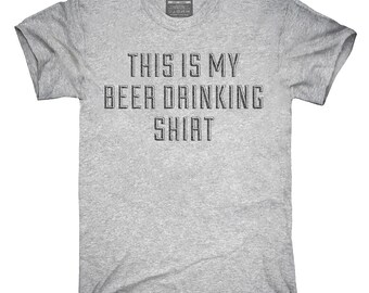 This Is My Beer Drinking Shirt T-Shirt, Hoodie, Tank Top, Gifts