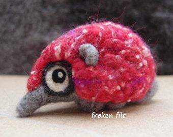 "Woolneppy baby ""Poppy hot pink"""