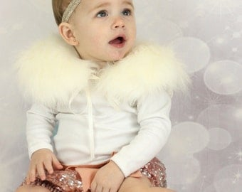 Frilly Milly Faux Fur Collar 2 ONLY !!!!