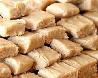 homemade smooth peanut butter fudge