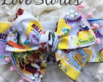 Love Stories Vintage Disney Headwrap
