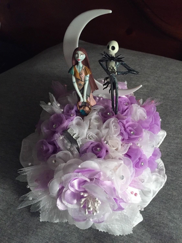 Nightmare Before Christmas Bride Groom Jack And Sally Wedding