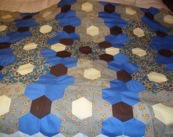 "Quilt Top(Handstitched)""Free Shipping"""
