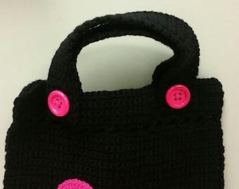 Chunky Button Bag