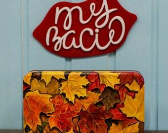 "Clutch ""Autumn leaf fall"""