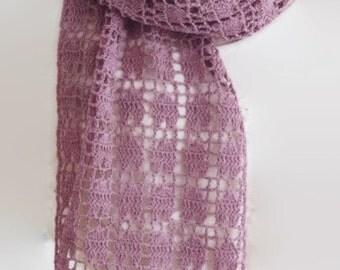 Pattern Crochet Easy Scarf, Year Round Crochet Scarf, Stole, Beginner Pattern, Easy Wrap, PDF, Instant Download, Crochet, Ptrn 902a