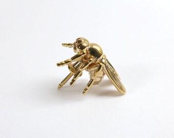 Drosophila Fruit Fly Lapel Pin - Science Jewelry