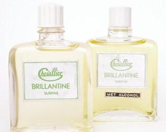 VTG Chevallier Brillantine Surfine Bottle // Vintage Hair Brillantine// 50s Barber Shop // Retro Gift // Collectors Item // Dutch