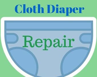 Pocket Diaper Repair