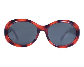 Molly 90s Deadstock Sunglasses ~ Tortoise Shell oval/rounded