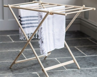 X Clothes Dryer. Wooden clothes airer. Dryer. - DRBE01