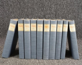The Book Of Poetry Vols. 1-10 By Edwin Markham C. 1926