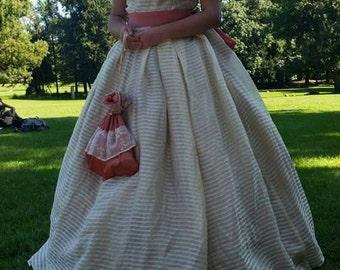 Rossella O'Hara civil war inspired dress