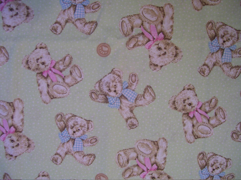 Boyds bears fabric nursery fabric bear fabric cotton for Nursery cotton fabric