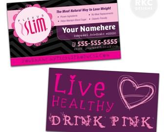 Plexus Slim Business Card Design [PRINTED & SHIPPED]