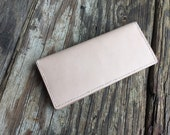 Leather wallet,womens gift,ladies gift,brown wallet, natural wallet,women's wallet, ladies wallet, folding wallet, long wallet