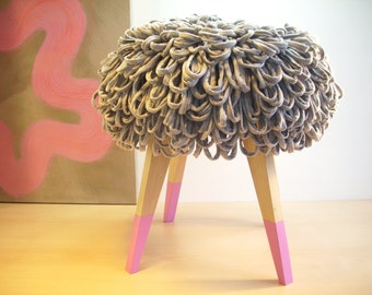 "Loops-stool ""Honkey Donkey - Pink"""