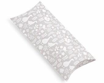 5 x Pillow Boxes / Gray Garden
