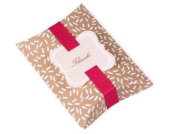 5 x Pillow Boxes / Brown Boxes