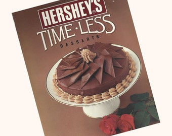 Hershey's Time-Less Desserts 1980s Cookbook