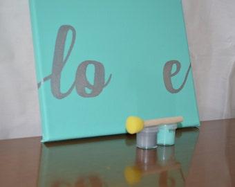 Love - Canvas Footprint Kit