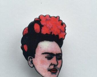 Frida Kahlo badge
