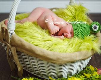 Baby frog hat, Crochet frog hat, Crochet animal hat for Newborn to 12 Months, Great as an woodland baby shower gift or for a cute photo prop