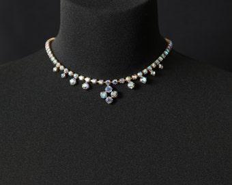 Vintage Art Deco Aurora Borealis Necklace