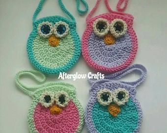 Owl Purse Kids Owl Purse Toddler Owl Purse
