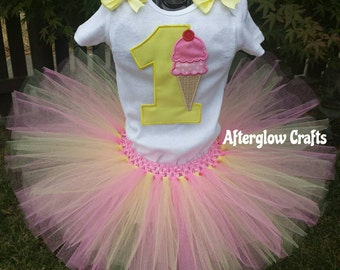 Ice Cream Tutu Set