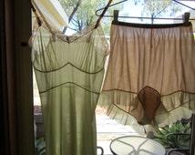Vintage lingerie set 34/USA 12/AU