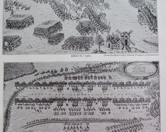 Antique Print 1926 Infantry Dreux 1562 and Lutzen 1632 Evolution Of The Column And Skirmishers Wellington Prussian