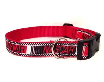 Adjustable Dog Collar - NASCAR
