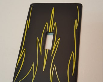 Pinstriped Light Switch Cover