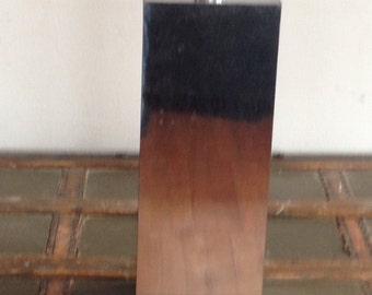 Vintage George Kovac Chrome square Table Lamp