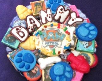 Dog Paw chocolates candy trays