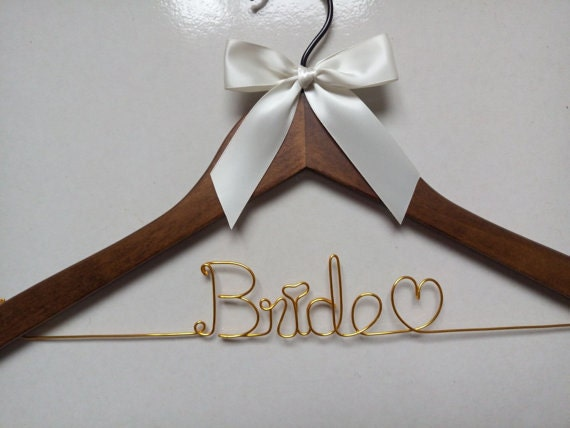 Personalised Wedding Gift Ribbon : Sale Hanger and ribbon Personalized Wedding