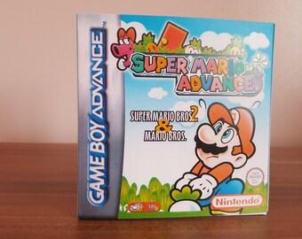 Game Boy Advance Super Mario Advance - Repo Box and Insert NO Game Included