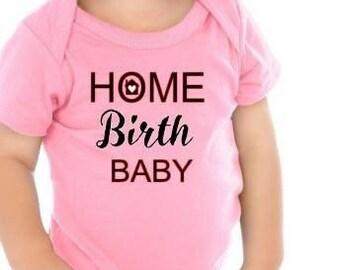Home Birth|Vbac|Water Birth|Birth Suite Onsie|baby onsie