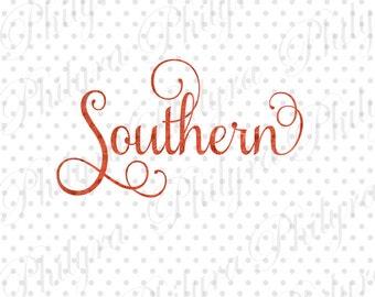 Southern Svg Etsy