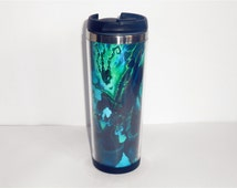 New Diy Mug LoL Thresh Coffee Cup Stainless Steel Outdoor Travel Cup Water Cup 19 CM 400 ML 14 OZ