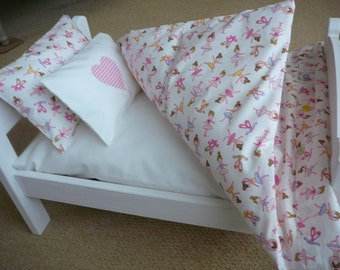 Bedding for an Ikea Dukting doll bed