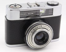 Zeiss-Ikon Contina LK 35mm Camera + Two Flash + Case - Very good condition and tested c.1961