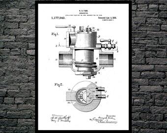 Carburetor Poster, Carburetor Patent, Carburetor Print, Carburetor Art, Carburetor Blueprint, Carburetor Wall Art, Car Decor