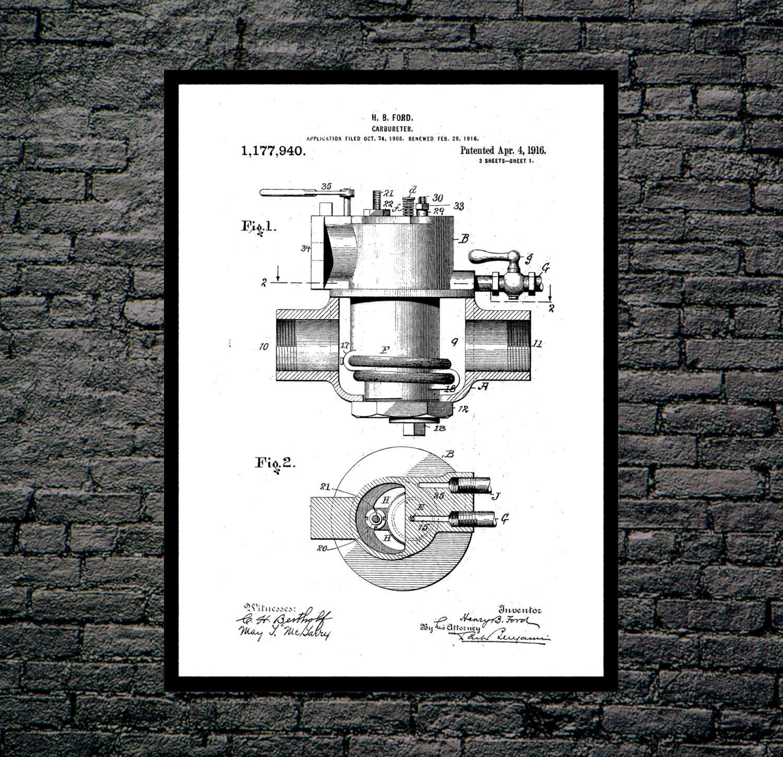 Carburetor poster carburetor patent carburetor print carburetor carburetor poster carburetor patent carburetor print carburetor art carburetor blueprint carburetor wall art car decor malvernweather Gallery