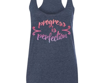 Progress is Perfection Workout tank