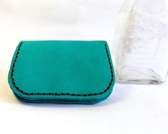 Leather wallet, leather purse,