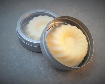 Organic Lotion Bar- Travel Lotion Bar - Shea butter lotion bar - travel tin - all natural lotion bar