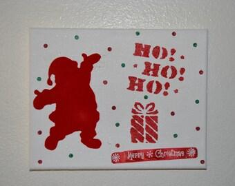 Christmas sign, Christmas canvas , Christmas decor