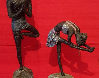 Paverpol Yoga Poses Male or Female Form